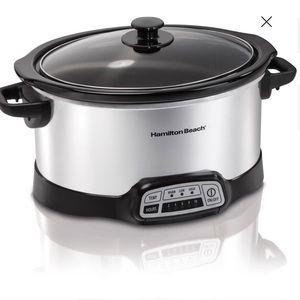 Hamilton Beach 5 quart slow cooker